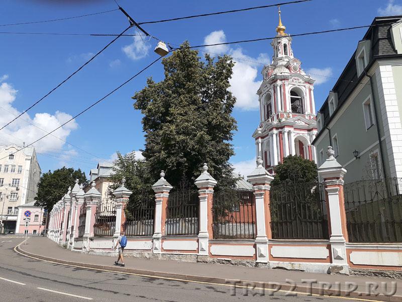 Храм Никиты Мученика, Старая Басманная, Москва