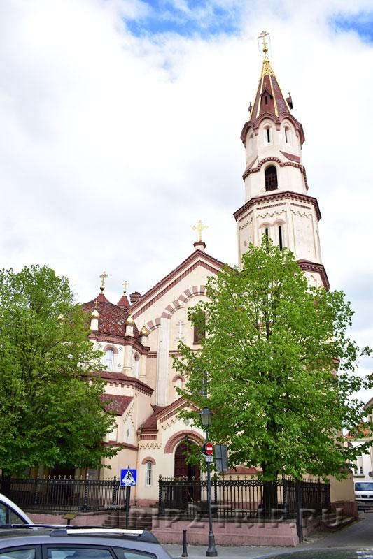 Никольская церковь, улица Великая, Вильнюс