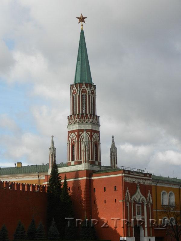 Никольская башня, Кремль, Москва