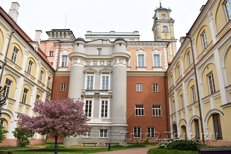 Дворик Обсерватории, Виленский Университет