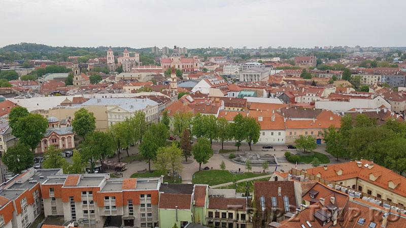 Сквер Константинаса Сирвидаса, Вильнюс