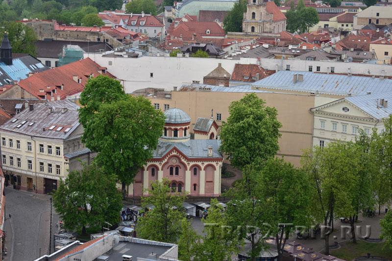 Пятницкая церковь, улица Великая, Вильнюс