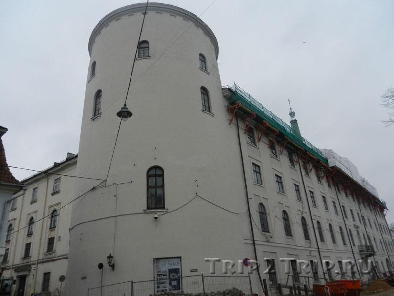 Свинцовая башня, рижский замок