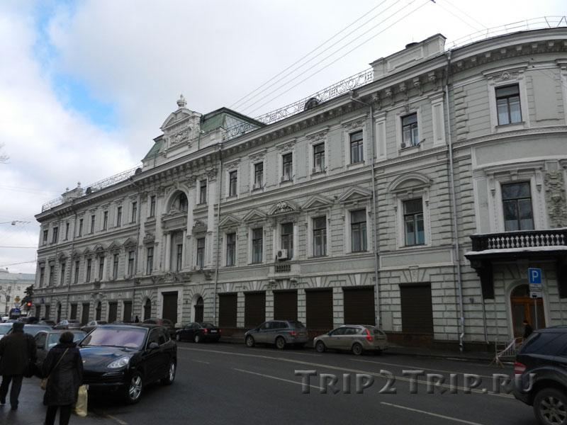 Доходный дом Московского купеческого банка, Ильинка, Китай-город, Москва