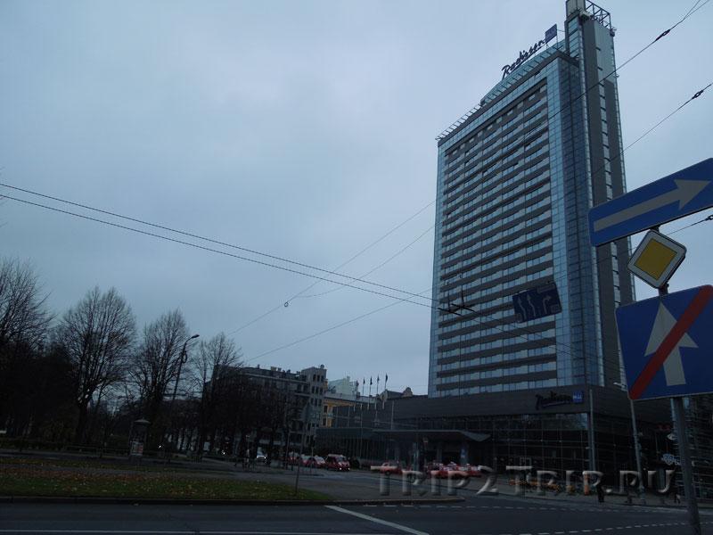 Отель Radisson Blu Latvia, Эспланада, Рига