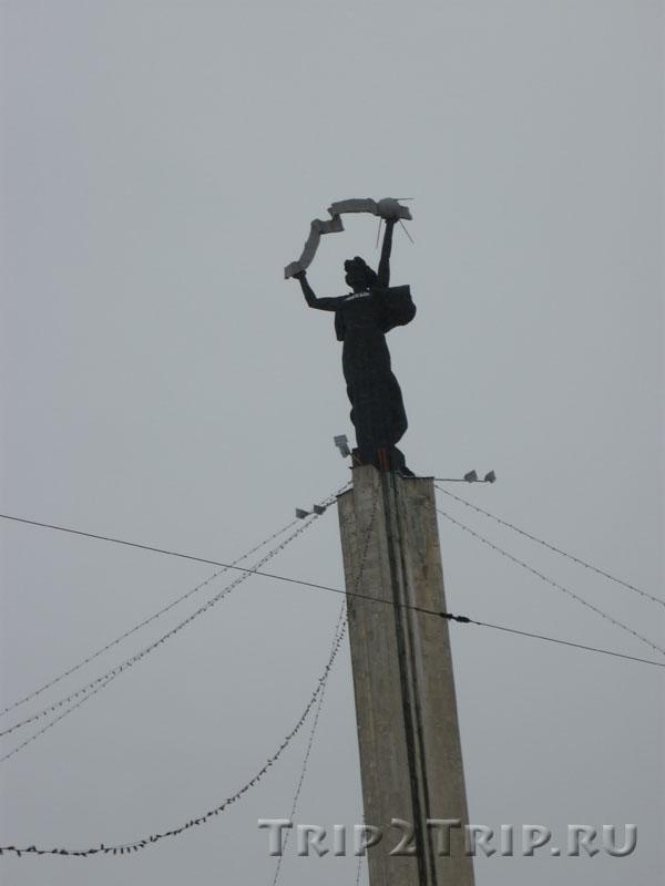 Стелла Родина-мать, площадь Победы, Калуга