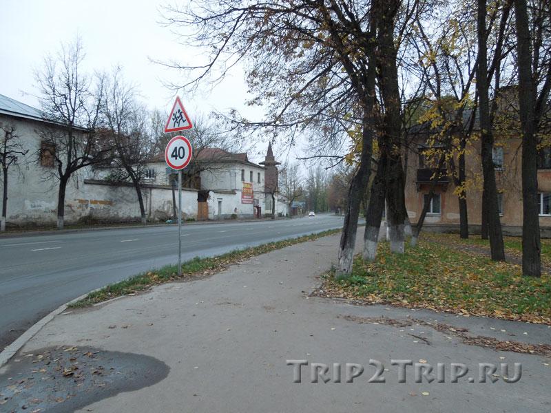 Улица Леона Поземского в районе канатной фабрики, Старое Запсковье, Псков