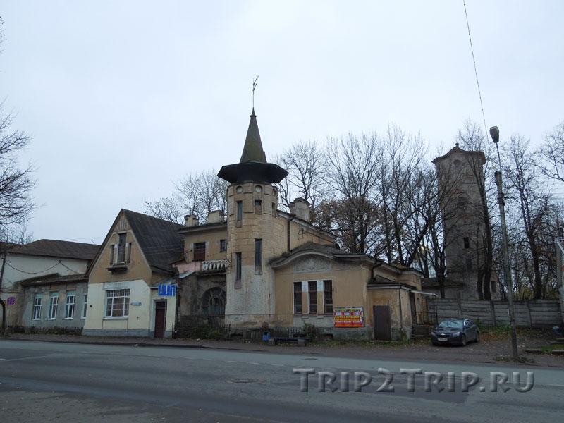 Канатная фабрика Мейера и водонапорная башня, Старое Запсковье, Псков