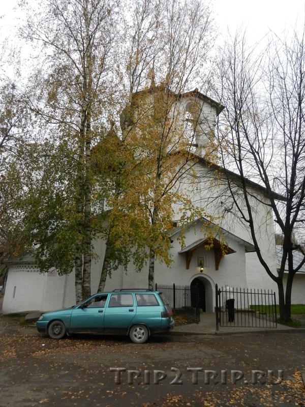 Храм Николы со Усохи, Средний город, Псков