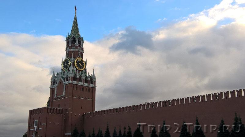 Спасская башня, Кремль, Москва