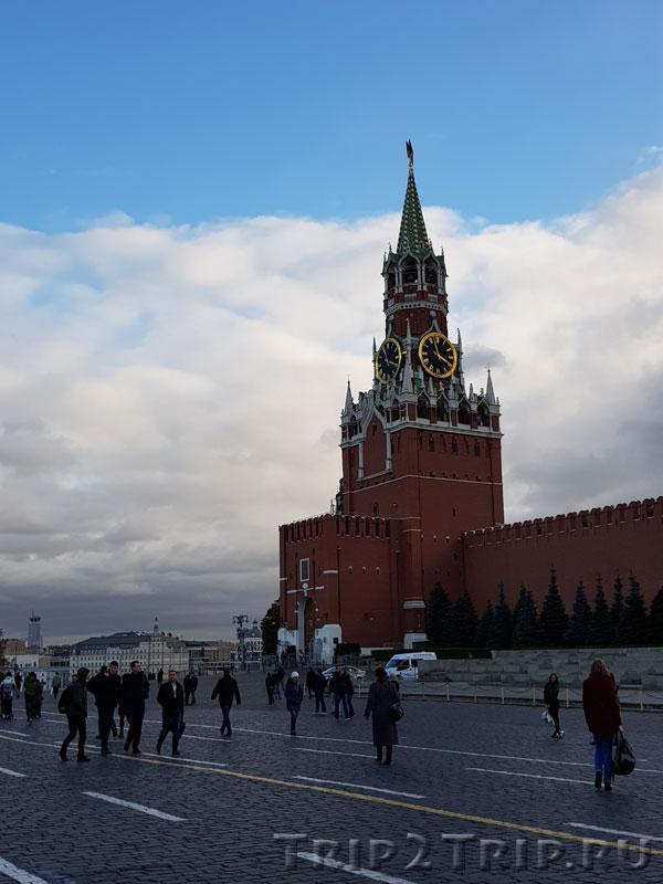 Спасская башня, Кремль