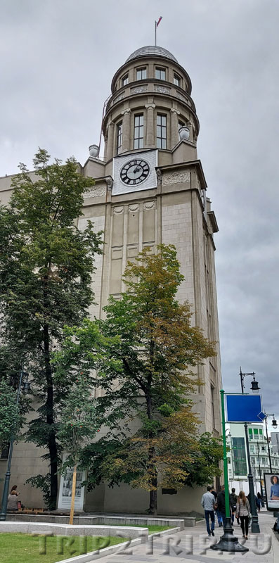 Западный корпус Северного страхового общества, Ильинка, Китай-город, Москва