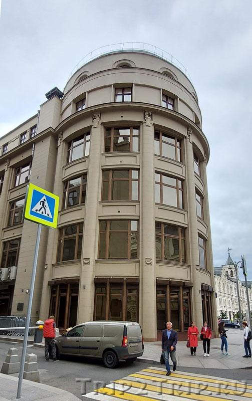 Восточный корпус Северного страхового общества, Ильинка, Китай-город, Москва