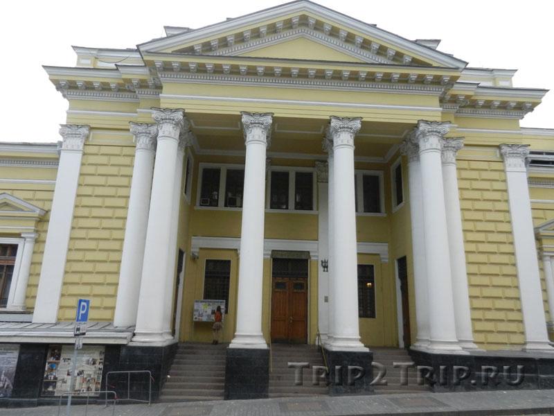 Московская хоральная синагога, Большой Спасоглинищевский переулок, Москва