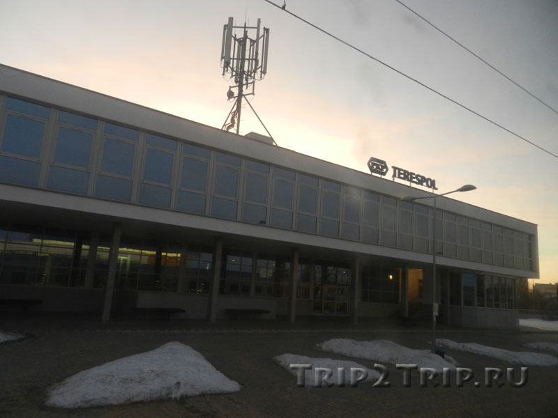 Железнодорожный вокзал, Тересполь