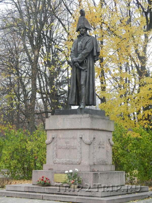 Памятник Барклаю де Толли, эспланада, Рига