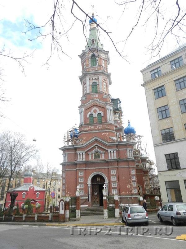 Колокольня Свято-Троицкой Задвинской церкви, Рига