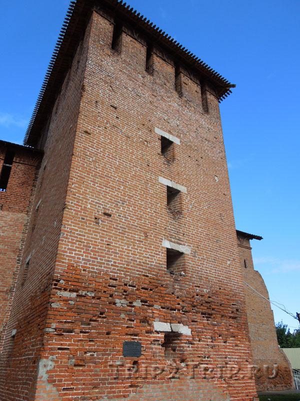 Ямская (Троицкая) башня, Коломна