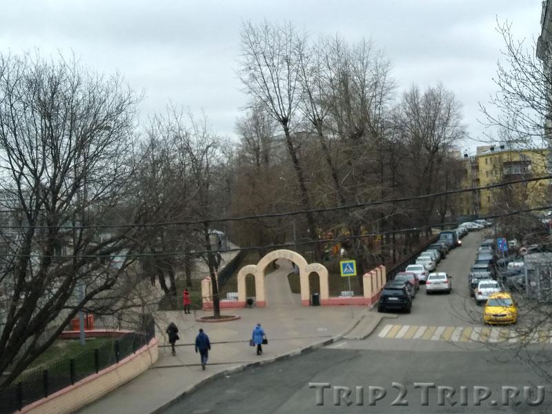 """Сквер """"Новый"""" при жд станции """"Авиамоторная"""", Дангауэровка, Москва"""