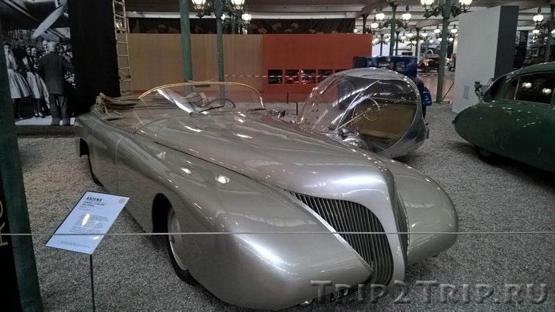 "Arzens, Cabriolet ""La Baleine"", 1938, Музей ретроавтомобилей, Мюлуз"