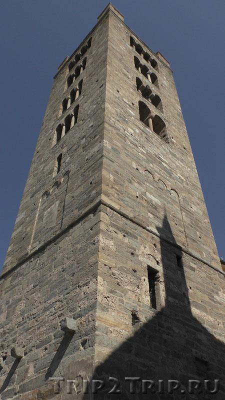 Колокольня при церкви Святых Петра и Урса, Аоста