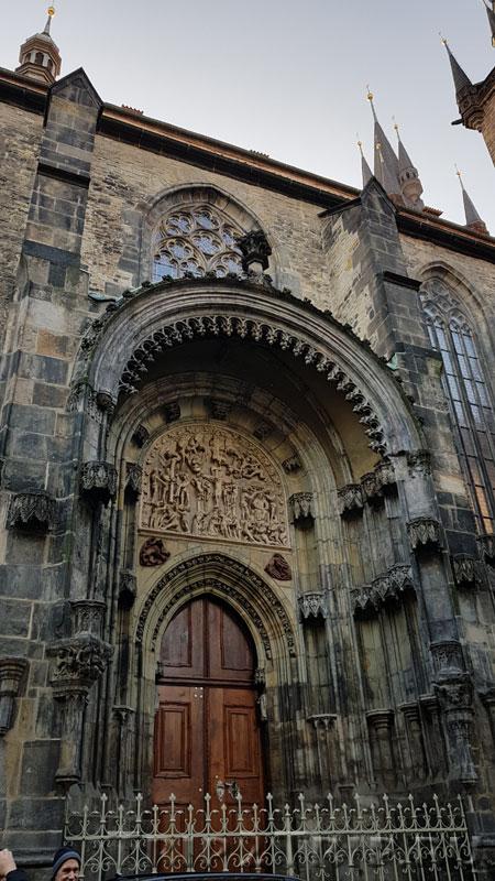 Северный портал, Тынский храм, Прага