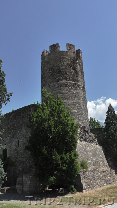 Башня-замок Брамафан, Аоста