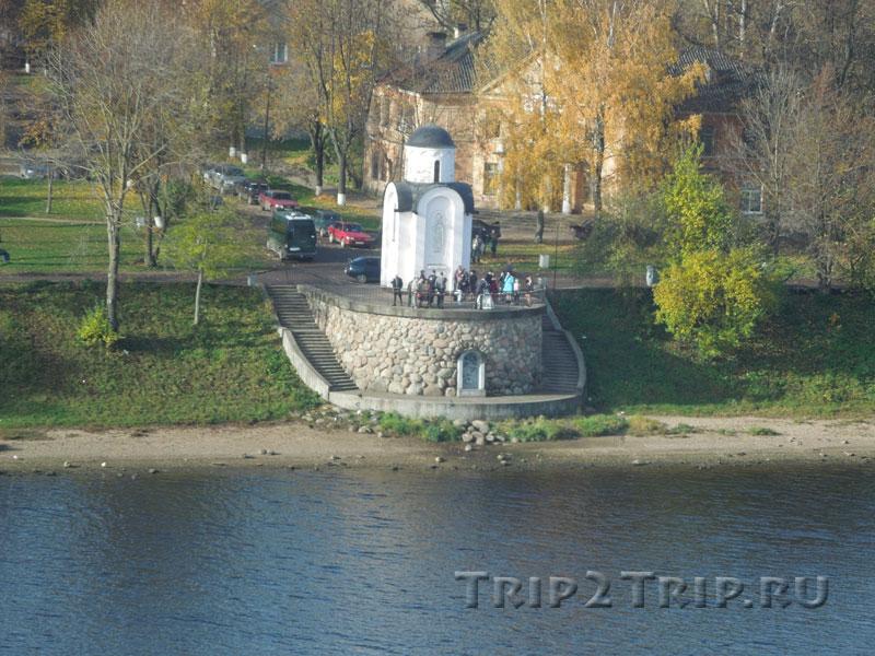Ольгинская часовня, Завеличье, Псков