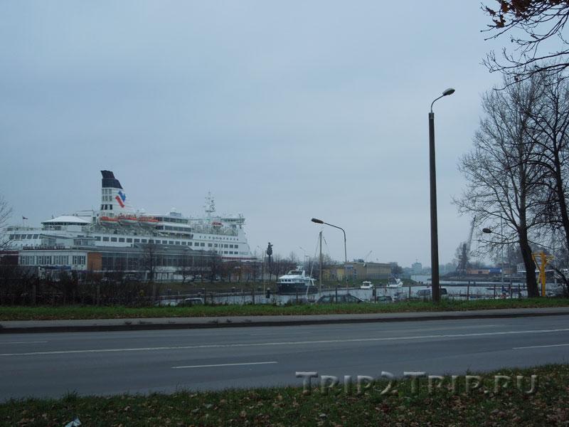 Пассажирский порт, Рига