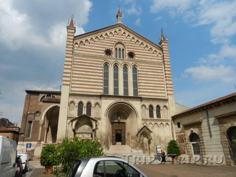 Церковь Сан-Фермо-Маджоре, Верона