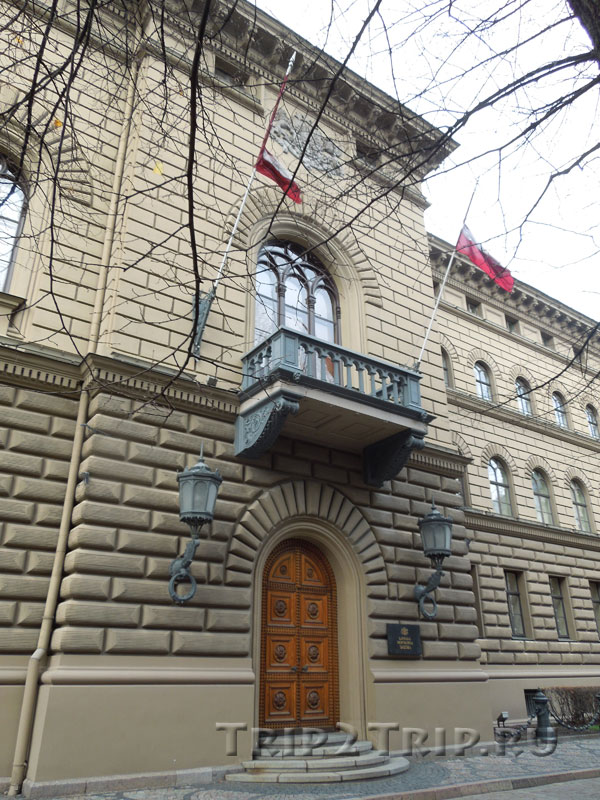 Здание Сейма, Рига