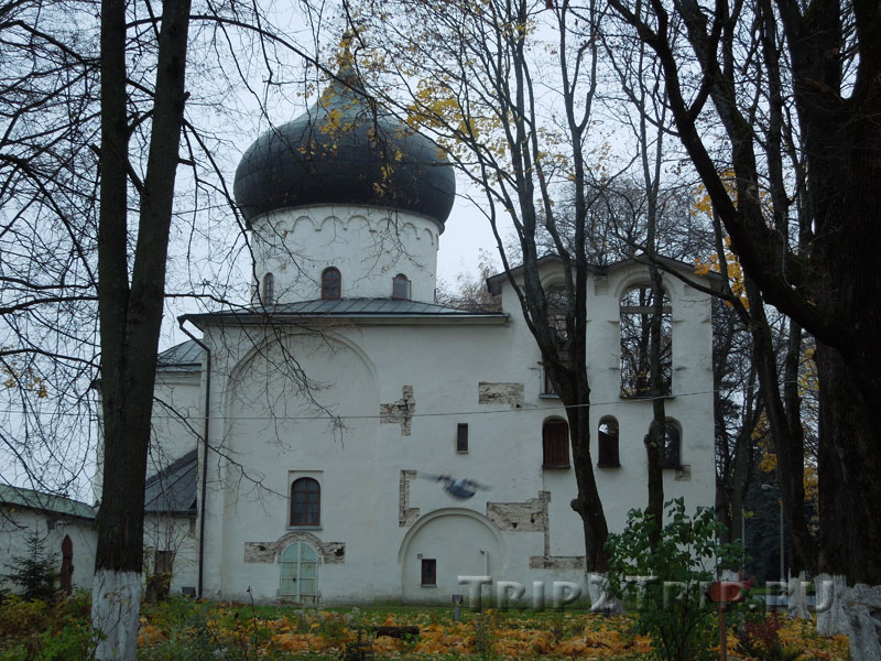 Спасо-Преображенский собор, Мирожский монастырь, Псков