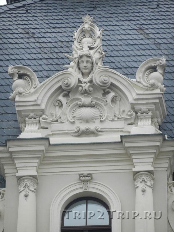 Декор на доме по адресу Виландес, 1, Рига