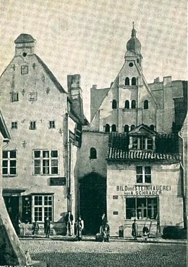 Три брата в конце XIX века, Рига