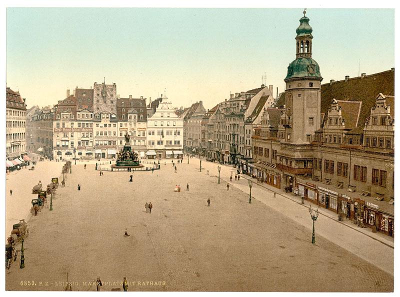 Лейпциг в 1853 году, Саксония