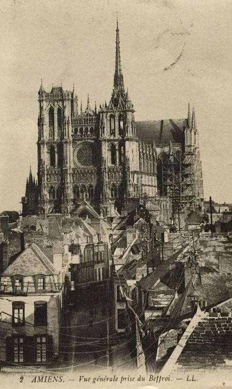 Собор Амьенской Богоматери в 1900 году