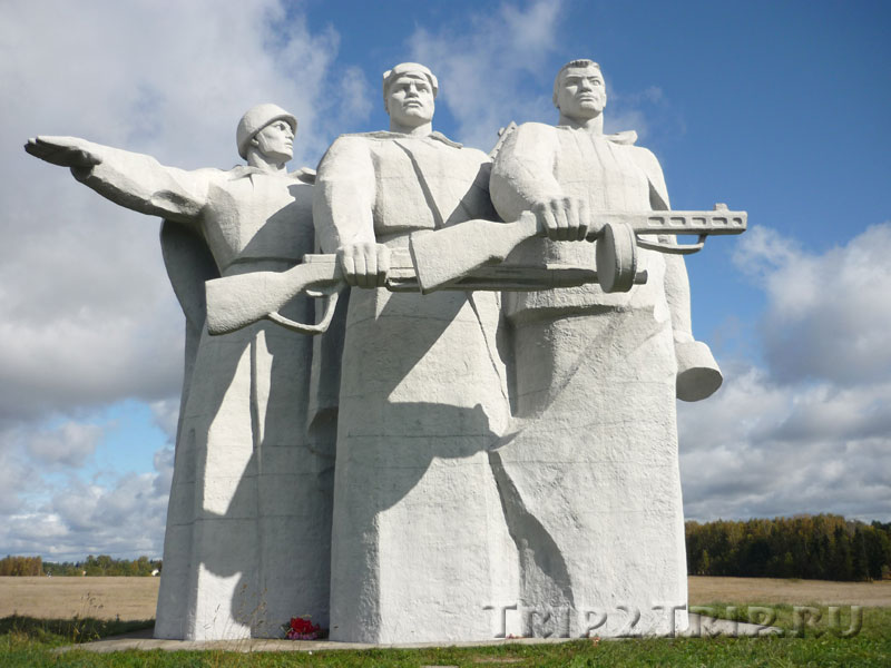 Мемориал 28 панфиловцам под Волоколамском