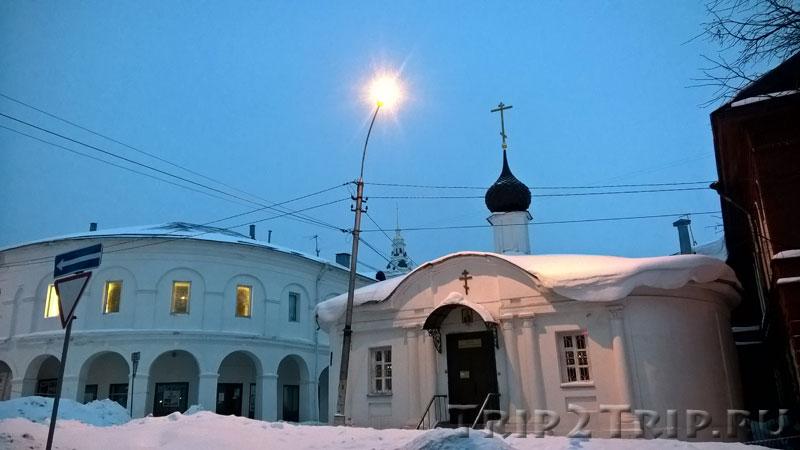 Церковь-ротонда Николая Чудотворца, улица Молочная Гора, Кострома