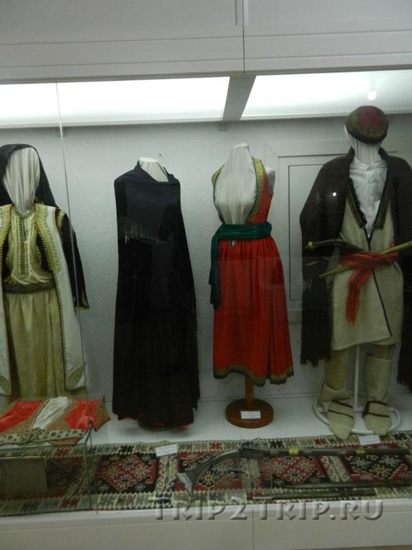 Традиционные наряды черногорцев XVIII века, Археологический музей Будвы