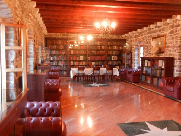 Библиотека цитадели в Будве