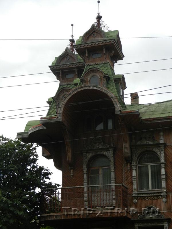 Левое крыло дома купца Гордеева, Рыбинск