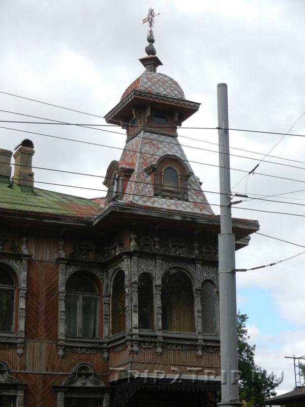 Правое крыло дома купца Гордеева, Рыбинск