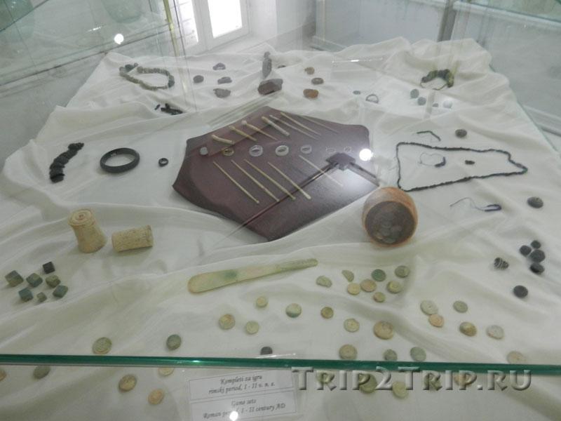 Игры, популярные в римскую эпоху, Будваснкий археологический музей