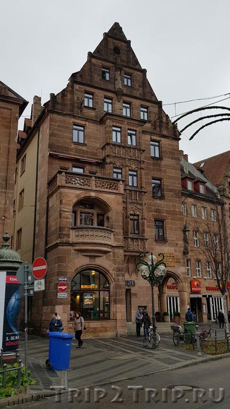 """Отель """"Deutscher Kaiser"""", Кёнигштрассе, Нюрнберг"""