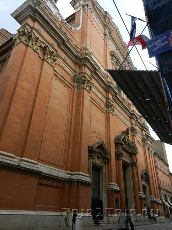 Кафедральный собор Сан-Пьетро (Святого Петра) в Болонье