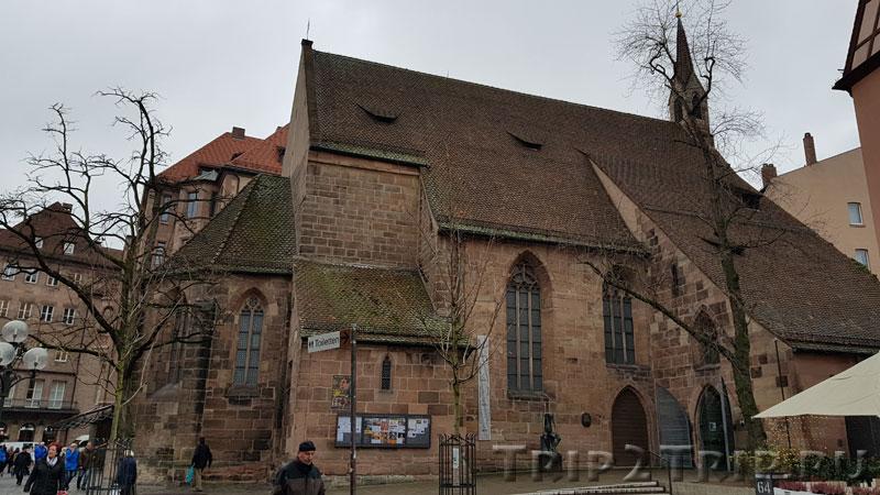 Церковь Святой Клары, Кёнигштрассе, Нюрнберг