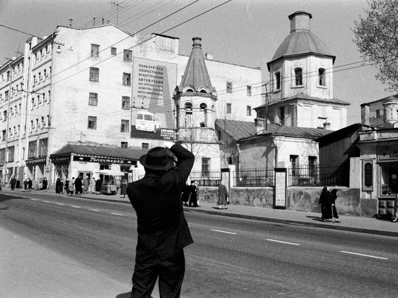 """""""Малое Вознесение"""" в 1960-е, Большая Никитская, Москва"""