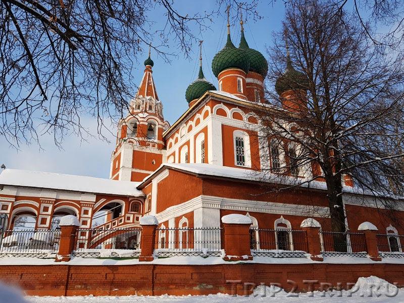 Фото церкви Архангела Михаила на Которосльной набережной