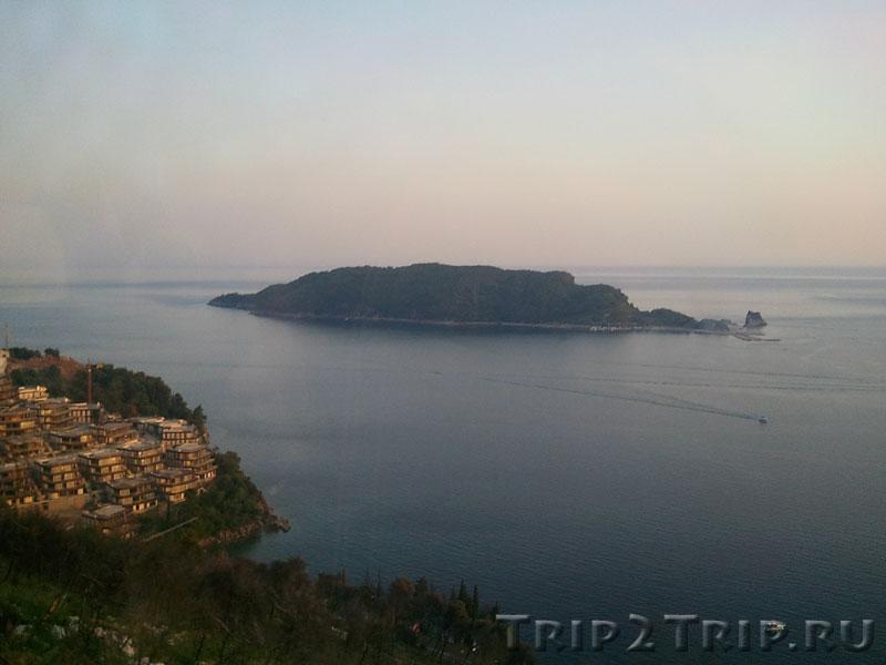 Остров Святого Николая, Будванский залив