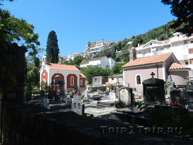 Католическое кладбище, Будва